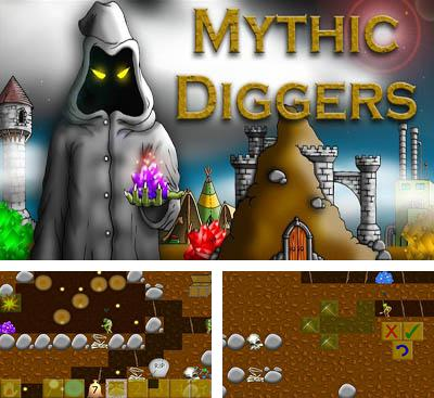 In addition to the game Gem Miner 2 for Android phones and tablets, you can also download Mythic Diggers for free.