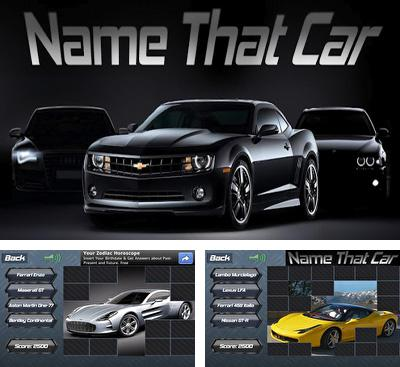 In addition to the game Logos quiz for Android phones and tablets, you can also download Name That Car for free.