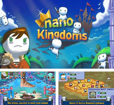 In addition to the game Cyklus for Android phones and tablets, you can also download Nano Kingdoms for free.