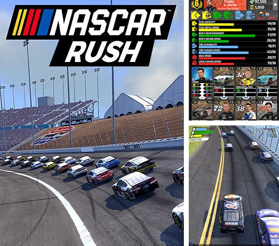 In addition to the game Door slammers 2: Drag racing for Android phones and tablets, you can also download NASCAR rush for free.