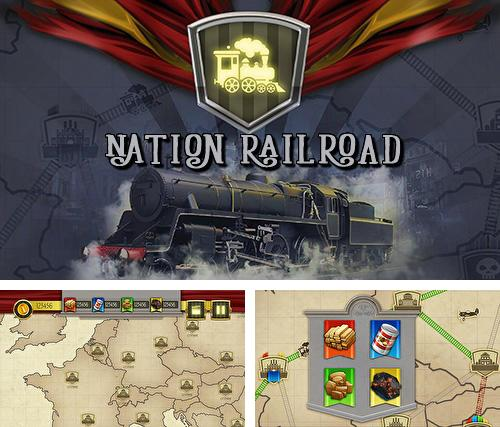 En plus du jeu Trônes: Pouvoir des humains  pour téléphones et tablettes Android, vous pouvez aussi télécharger gratuitement Empire national de chemin de fer: Magnat, Nation railroad transport empire tycoon.
