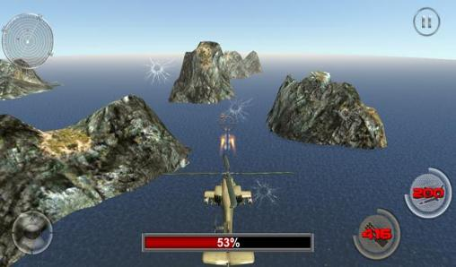 Screenshots von Navy gunship shooting helicopter für Android-Tablet, Smartphone.