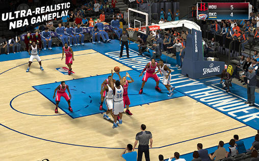 Screenshots do NBA 2K15 - Perigoso para tablet e celular Android.
