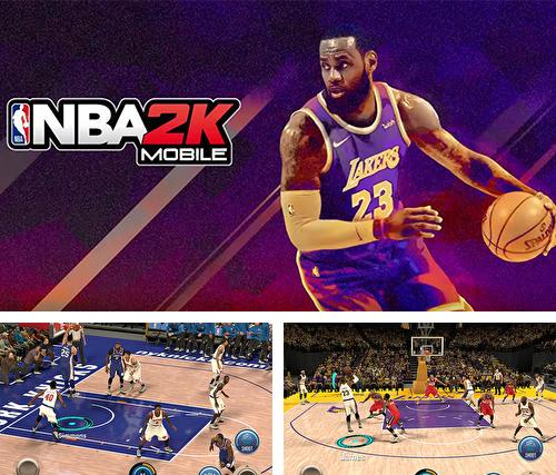 In addition to the game NBA 2K Mobile basketball for Android, you can download other free Android games for Nomi i552.
