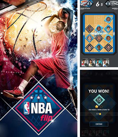 In addition to the game NBA King of the Court 2 for Android phones and tablets, you can also download NBA flip: Official game for free.