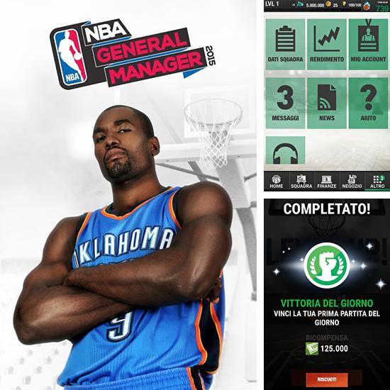 In addition to the game NBA King of the Court 2 for Android phones and tablets, you can also download NBA general manager 2015 for free.