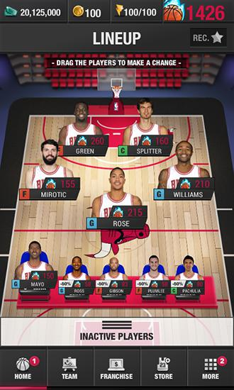 Download NBA general manager 2016 Android free game.