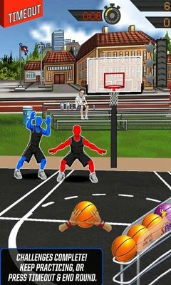 Screenshots of the NBA King of the Court 2 for Android tablet, phone.