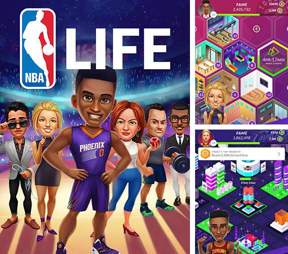 In addition to the game NBA King of the Court 2 for Android phones and tablets, you can also download NBA life for free.