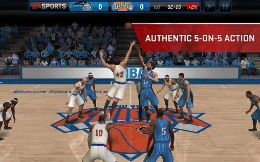 Screenshots do NBA live mobile - Perigoso para tablet e celular Android.