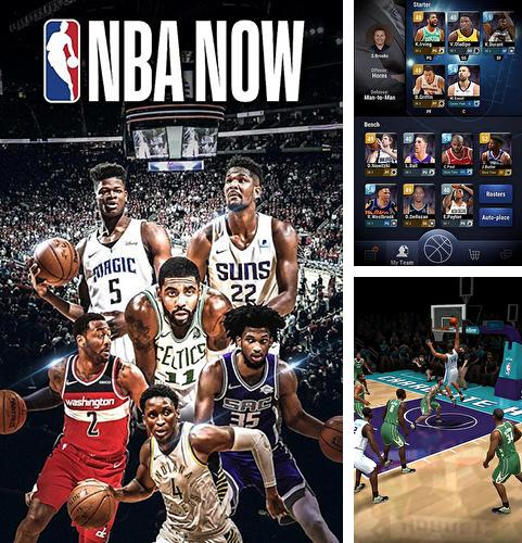 En plus du jeu NBA 2K: Basketball mobile pour téléphones et tablettes Android, vous pouvez aussi télécharger gratuitement NBA maintenant: Jeu mobile de basketball, NBA now: Mobile basketball game.