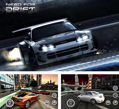 In addition to the game Car Club: Tuning Storm for Android phones and tablets, you can also download Need for Drift for free.