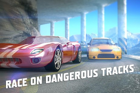 Screenshots von Need for racing: New speed car. Racer  für Android-Tablet, Smartphone.