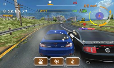 Screenshots von Need for Speed Hot Pursuit v2.0.18 für Android-Tablet, Smartphone.