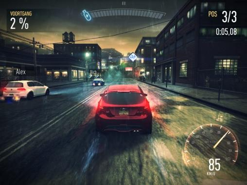 Screenshots do Need for speed: No limits - Perigoso para tablet e celular Android.