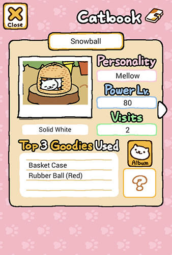 Neko atsume: Kitty collector screenshot 1