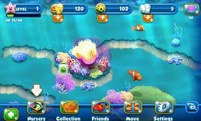 Download Nemo's Reef Android free game.