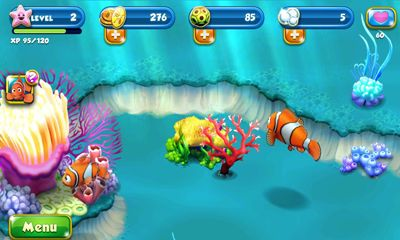 Screenshots von Nemo's Reef für Android-Tablet, Smartphone.