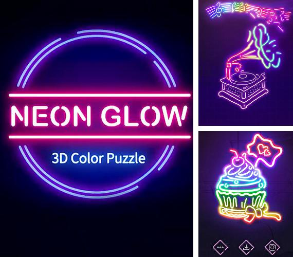 Neon glow: 3D color puzzle game