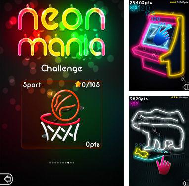 In addition to the game Infinite Sky for Android phones and tablets, you can also download Neon Mania for free.