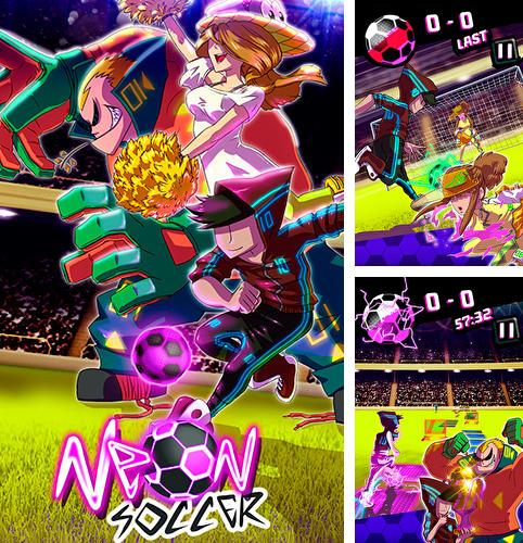 Neon soccer: Sci fi football clash and epic soccer