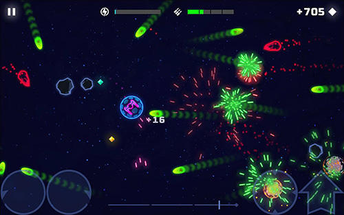 Jogue Neon spaceships para Android. Jogo Neon spaceships para download gratuito.