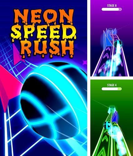 Neon speed rush