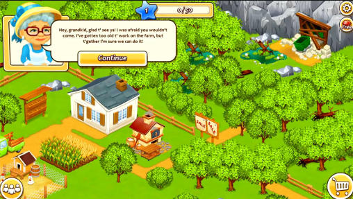 New farm town: Day on hay farm screenshot 1