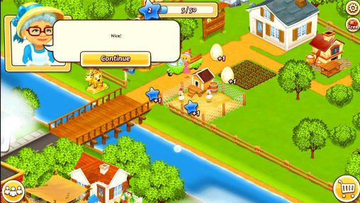 New farm town: Day on hay farm screenshot 2