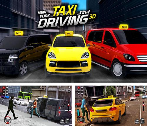 New York taxi driving sim 3D