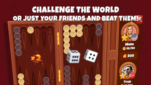 Next backgammon: Board game für Android spielen. Spiel Next Backgammon: Brettspiel kostenloser Download.
