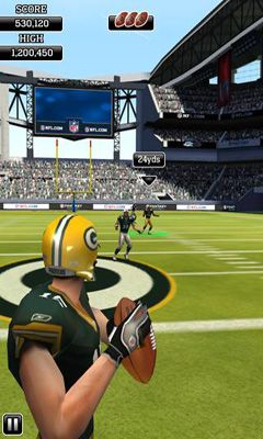 NFL Flick Quarterback screenshot 1