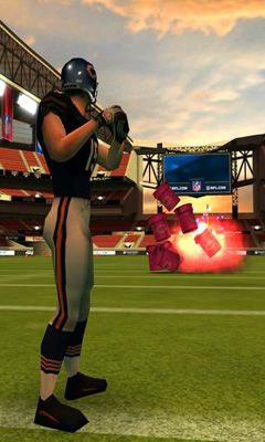Screenshots do NFL Flick Quarterback - Perigoso para tablet e celular Android.