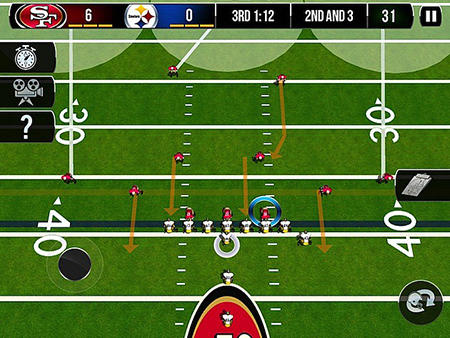 Screenshots von NFL pro 2014 für Android-Tablet, Smartphone.