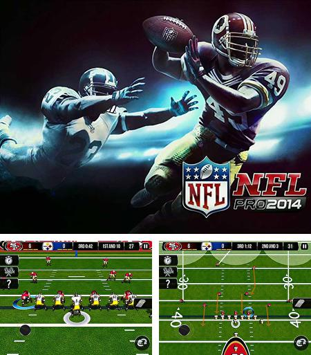 In addition to the game Backbreaker 2 Vengeance for Android phones and tablets, you can also download NFL pro 2014 for free.