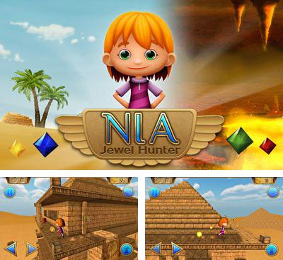 In addition to the game Jack Pott - The Great Escape for Android phones and tablets, you can also download Nia: Jewel Hunter for free.
