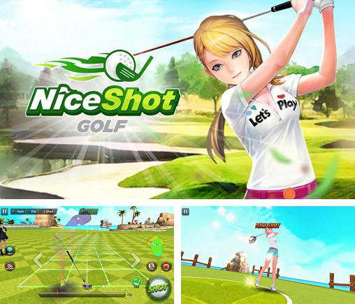 In addition to the game Let's Golf! 2 HD for Android phones and tablets, you can also download Nice shot golf for free.