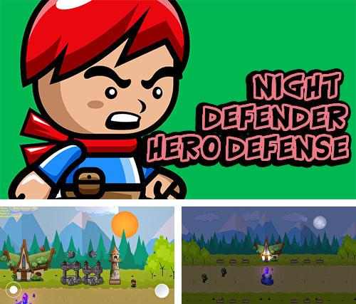 Night defender: Hero defense