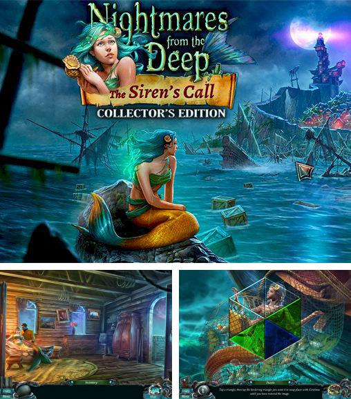 En plus du jeu Bateau maudit  pour téléphones et tablettes Android, vous pouvez aussi télécharger gratuitement Les Cauchemars des souterrains 2: l'appel de la sirène. L'Edition de Collection, Nightmares from the deep 2: The Siren's call collector's edition.