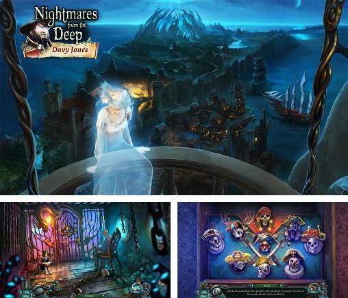 Zusätzlich zum Spiel Abyss: Gespenster Edens für Android-Telefone und Tablets können Sie auch kostenlos Nightmares from the deep: Davy Jones. Collector's edition, Alpträume aus der Tiefe: Davy Jones. Collector's Edition herunterladen.