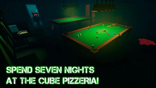 Screenshots von Nights at cube pizzeria 3D 4 für Android-Tablet, Smartphone.
