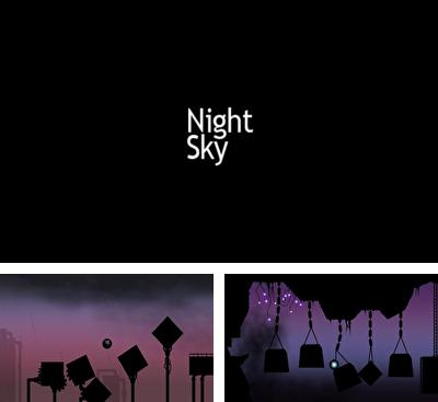 In addition to the game Sling It for Android phones and tablets, you can also download NightSky for free.