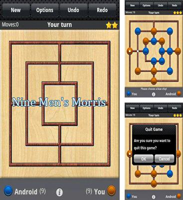In addition to the game Cyklus for Android phones and tablets, you can also download Nine Men's Morris for free.