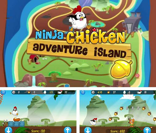 Ninja Chicken: Adventure island