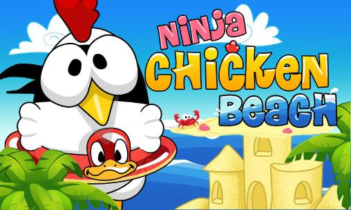 Ninja chicken: Beach обложка