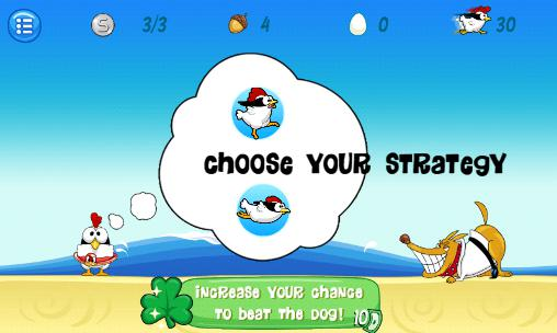 Screenshots von Ninja chicken: Beach für Android-Tablet, Smartphone.