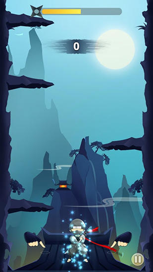 Ninja: Cliff jump screenshot 1