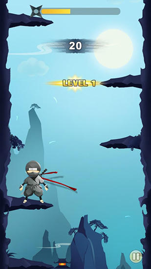 Ninja: Cliff jump screenshot 2