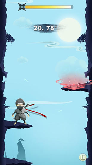 Ninja: Cliff jump screenshot 3