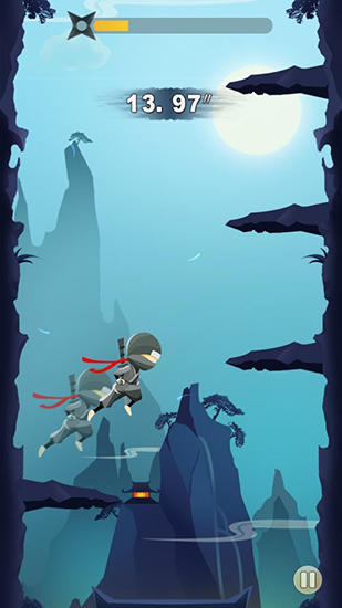Ninja: Cliff jump screenshot 4
